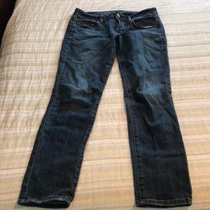 American Eagle Stretch Skinny Jeans 6 short